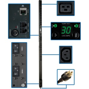 Switched Pdu 208v 240v 30a C13 C19 24 Outlet 0u Rm / Mfr. No.: Pdumv30hvnet