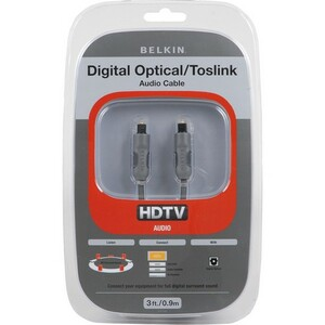 Belkin 6 Ft Toslink Optical Audio Cable Nic / Mfr. No.: Am20002-06