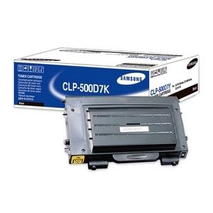 Toner Samsung Noir pour CLP-500/CLP-550 series - CLP-500D7K