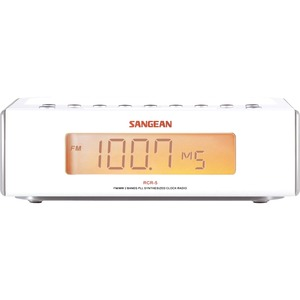 Sangean Am/Fm Clock Radio / Mfr. No.: Rcr-5