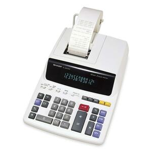 Sharp EL2607RIII Desktop Printing Calculator