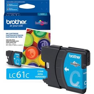 Lc61c Cyan Ink Cartridge For Mfc-6490cw / Mfr. No.: Lc61c