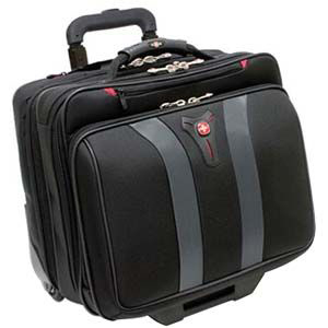 Swissgear Granada Rolling Case Black and Grey 17in Laptop / Mfr. No.: Ga-7011-14f00