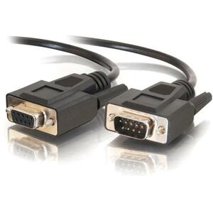 3ft Db9 M/F All Lines Ext Cabl Black / Mfr. No.: 25213