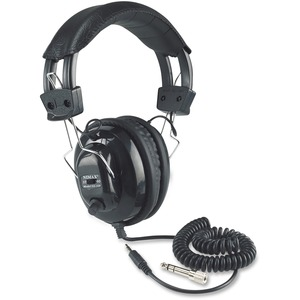 Stereo Leatherette Headphones Individual Ear Volume Control / Mfr. No.: Sl1002