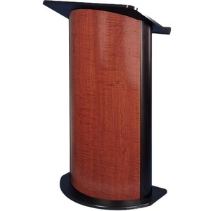Contemporary Curved Lectern Sipping Seattle Java Black Alum / Mfr. No.: Sn3145