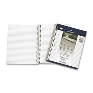 "Mead® Cambridge® Coil Notebook Side Bound 9-1/2x7-1/4"" 160pgs"