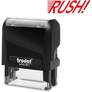 Trodat® Printy 4911 Self-Inking Message Stamp RUSH!