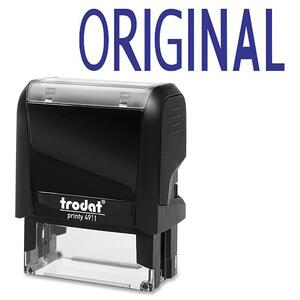 Trodat® Printy 4911 Self-Inking Message Stamp ORIGINAL