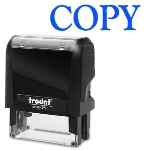 Trodat® Printy 4911 Self-Inking Message Stamp COPY