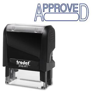 Trodat® Printy 4911 Self-Inking Message Stamp with Window APPROVED
