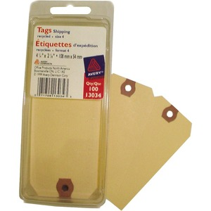 "Merangue Shipping Tags #4 4-1/4""x2-1/8"" 100/pkg"