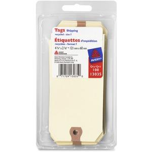 "Merangue Shipping Tags #5 4-3/4""x2-3/8"" 100/pkg"