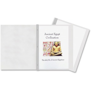 Wilson Jones® Poly Tang Presentation Cover Clear