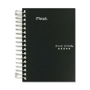 "Mead® Five Star® Fat Lil' Notebook 5-1/2"" x 4-1/8"" 400 pages Assorted Colours"