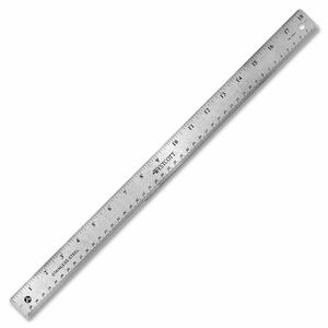 "Westcott® Stainless Steel Ruler 18"""