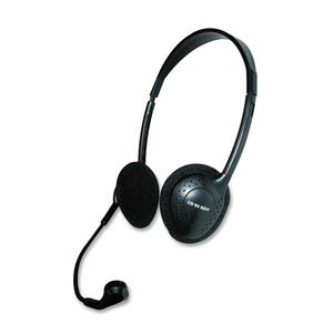 Exponent® Headset with Microphone Black