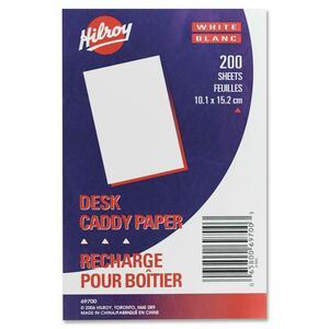 """Hilroy Desk Caddy Paper 4"""" x 6"""" 200shts/pkg"""