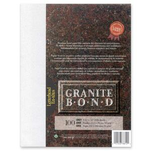 St. James® Granite Bond Paper Letter Grey 100/pkg