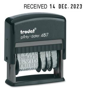 Trodat® Printy 4817 Dial-A-Phrase Dater English