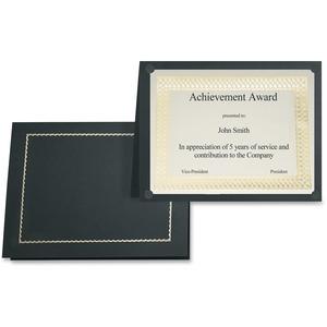 St. James® Certificate Holders Classic Black 5/pkg