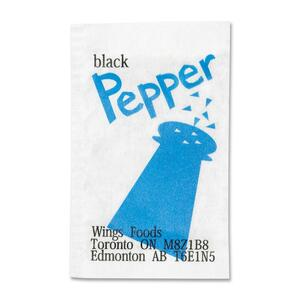 Pepper Packets Single Serve 6,000/box