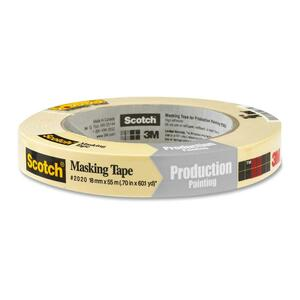 "Scotch® 2020 General Purpose Masking Tape 3/4"" (18 mm x 55 m)"