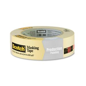 "Scotch® 2020 General Purpose Masking Tape 1-1/2"" (36 mm x 55 m)"