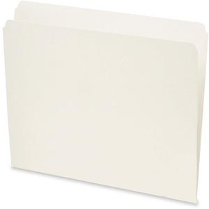 Pendaflex® Straight Cut Reversible File Folders Letter Ivory 100/box