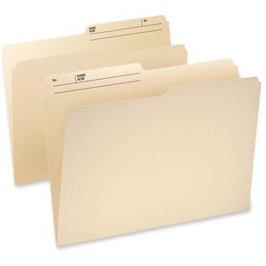 Pendaflex® CutLess® WaterShed® Reversible File Folders 1/2 Cut Legal 100/box