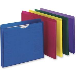 Pendaflex® Expanding Poly File Jackets Letter Asssorted Colours 5/pkg