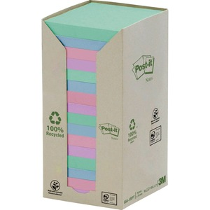 "PAD,POST/IT,S/S,RECYCLED, TOWER,3X3"",16/PK"