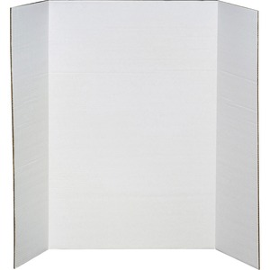 "Elmer's® Tri-Fold Project Board 2-ply 36"" x 48"" White"