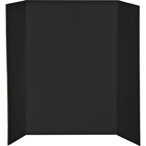 "Elmer's® Tri-Fold Project Board 2-ply 36"" x 48"" Black"