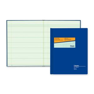 "Blueline® A1740 Columnar Book 12-1/4x9-7/8"" Record"
