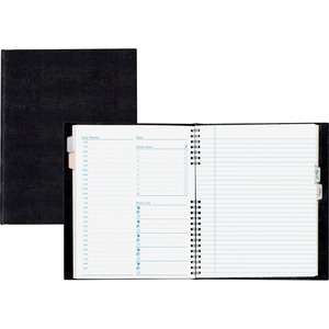 "Blueline® NotePro™ Daily Undated Planner 9-1/4"" x 7-1/4"" 192 pages Bilingual"