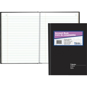 "Blueline® A796 Account Book 10-1/4"" x 7-11/16"" Record"