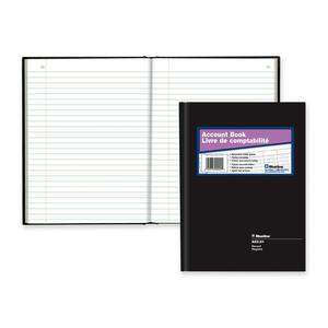 "Blueline® A82 Account Book 10-1/4"" x 7-11/16"" Record"