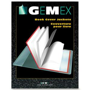 "Gemex Book Covers 11-1/4x17-5/16"" 50/box"