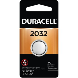 Duracell® Lithium Batteries 3V DL2032BPK
