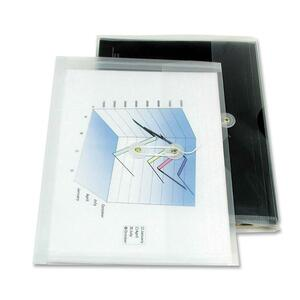 """Winnable Expanding Poly Envelope Side Load 11-3/4"""" x 8-3/4"""" Clear"""