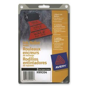 Avery 2 Line Price Gun Ink Roller Refill 5/pkg