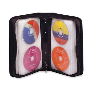 DAC® CD/DVD Wallet Organizer Holds 128 Discs