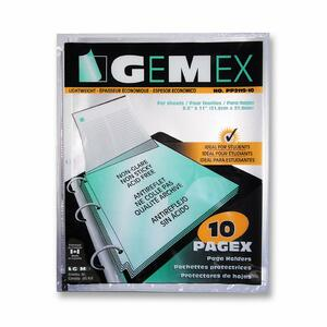 Gemex PAGEX Lightweight Page Protectors