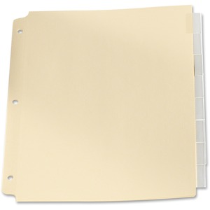 Oxford Oversized Insertable Tab Index Dividers 8-Tabs Clear