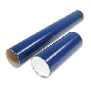 """Staedtler® Cardboard Mailing Tube 37"""" x 2-3/8"""" Blue"""