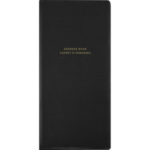 "Winnable Telephone and Address Book 6-3/4"" x 3-1/8"" 84 pages Black"
