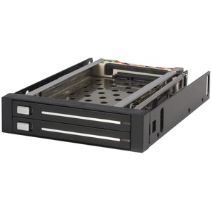 Startech 2 Drive 2.5in Trayless SATA Mobile Rack / Mfr. No.: Hsb220sat25b