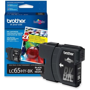 Brother® Inkjet Cartridge High Yield LC65HYBKS Black