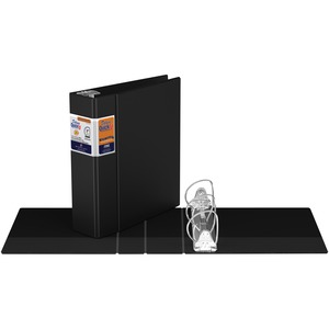 "Davis Group® Deluxe QuickFit® Commercial D-Ring Binder 3"" Black"